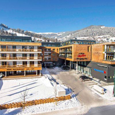 Aussenansicht Winter Hotel Apartment Central © AlpenParks Hotels & Residences