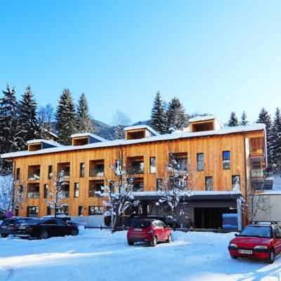 LoriVita Hotel Parkplatz