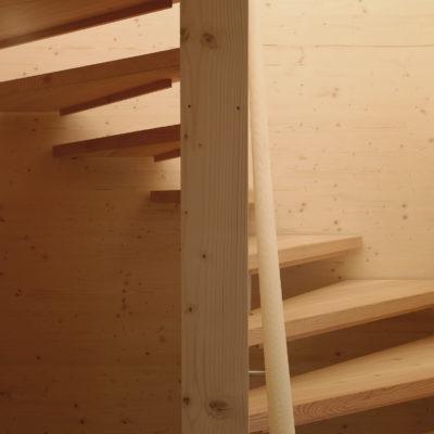 Holztreppen